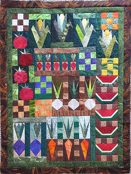 Garden Patch Quilt Pattern