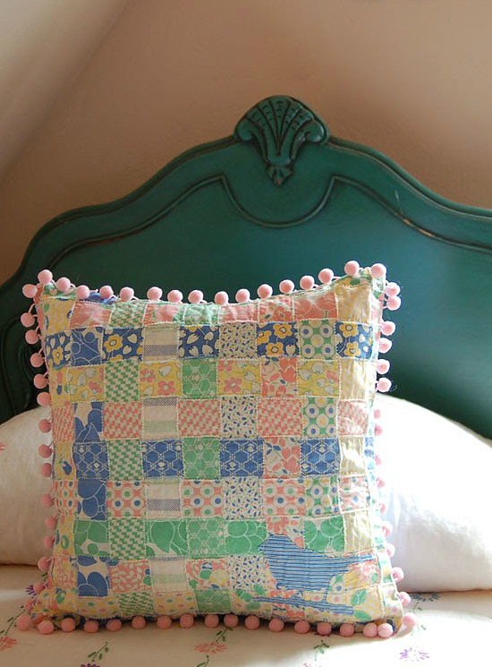 Sweet n Shabby Woven Pillow Cover