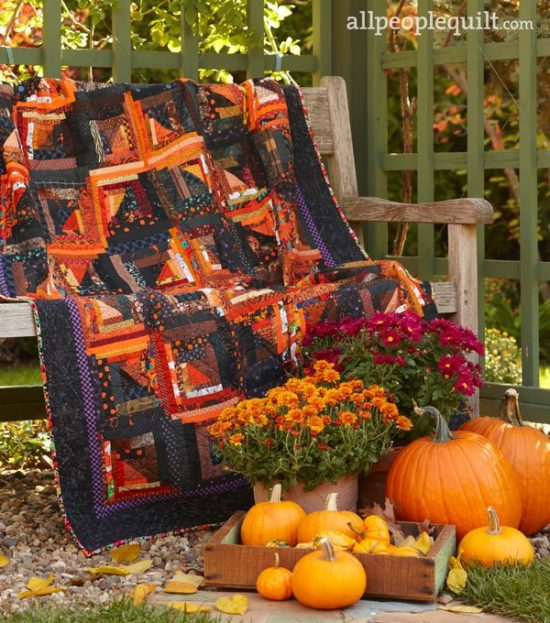 Spooky Shadows Quilt Pattern