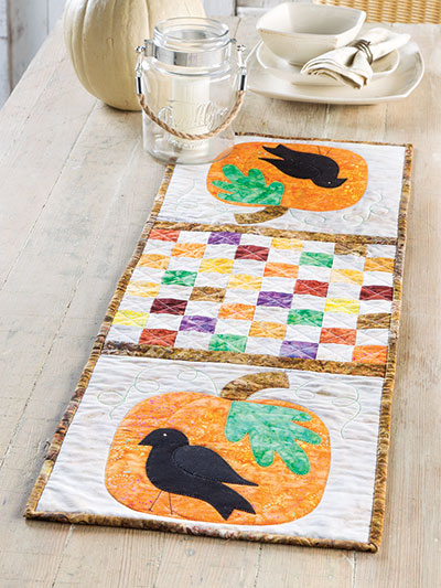 Fall's Here Table Runner Pattern