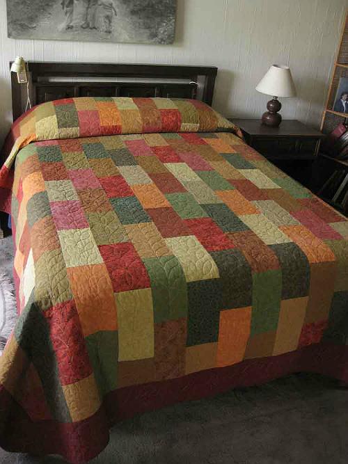 Brick Design Quilt