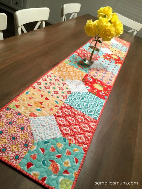 Layers of Charm Table Runner