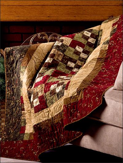 Walk Around the Block Quilt Pattern