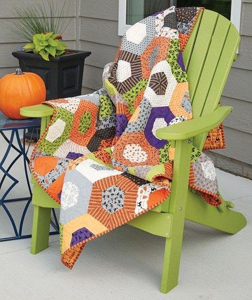 Delightful Spooks Quilt Pattern