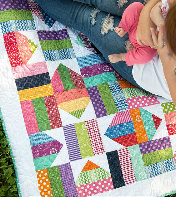 Fence Rail Star Quilt