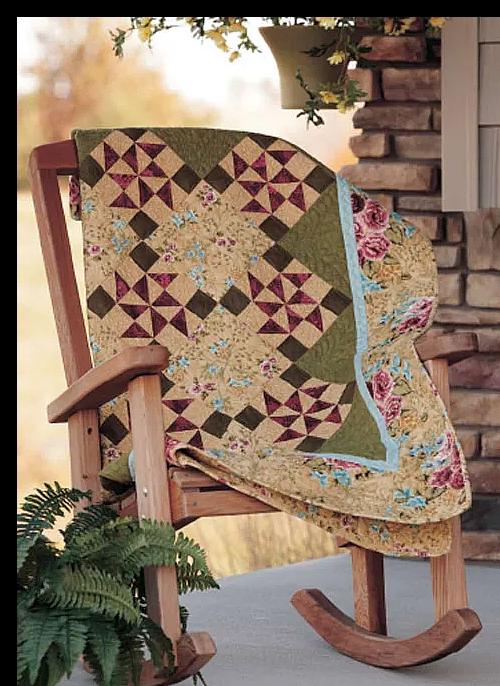 Jasmine Breeze Quilt Pattern