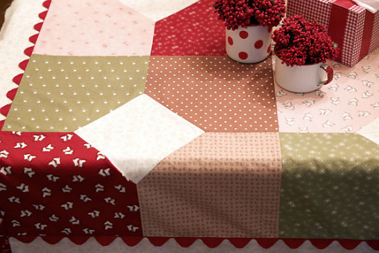 Layers of Charm Table Quilt