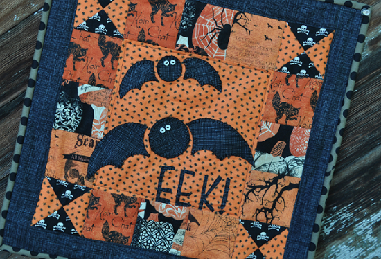 Halloween Mini Quilt Pattern