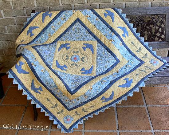 Bluebird Quilt Pattern