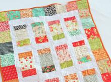 Charm Box Quilt Pattern