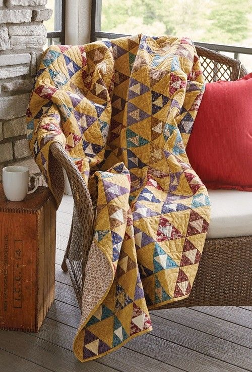 Triangle Time Quilt Pattern