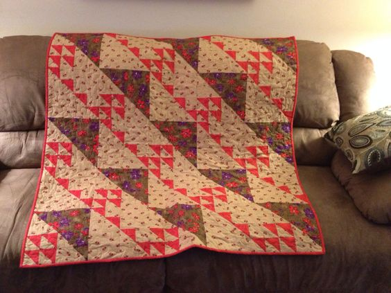 Garnets and Rubies Quilt Pattern