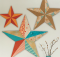 Wall Art Stars Sewing Pattern