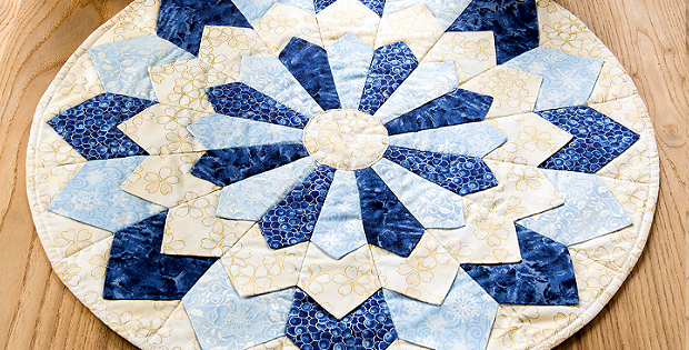 Create a Lovely Quilted Centerpiece in Your Colors ...