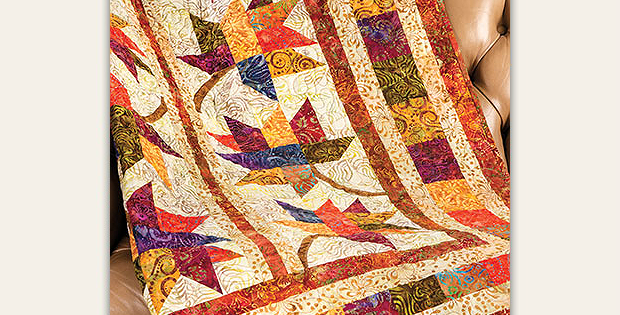 Fall Frolic Quilt Pattern