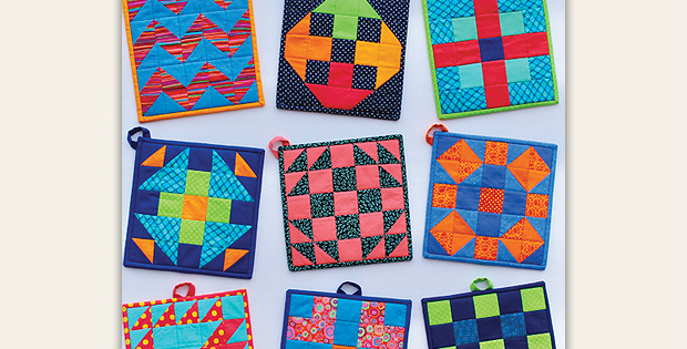 Modern Patch Pot Holders Pattern