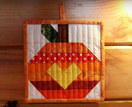 Pumpkin Pot Holder Pattern