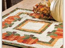 Pumpkin Patch Table Topper Pattern