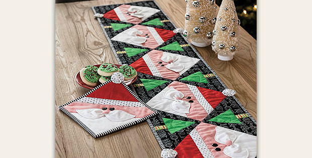 Dear Santa Kitchen Set Pattern