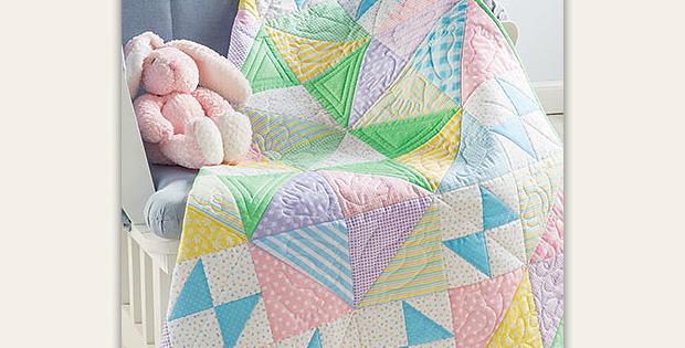 Scrappy Pastels Quilt Pattern
