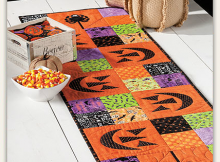 Spooktacular Table Runner Pattern