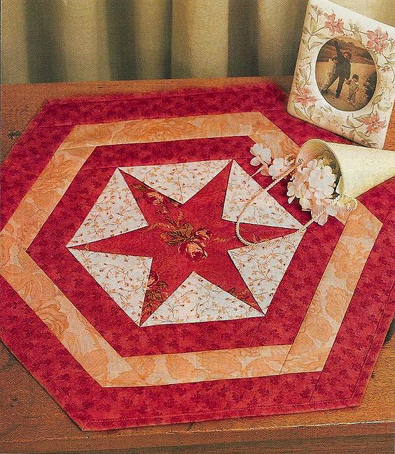 Hexagon Star Table Mat