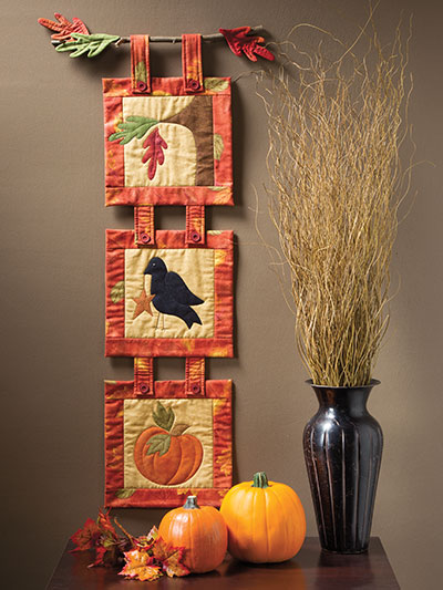 Welcome Fall Wall Hanging Pattern