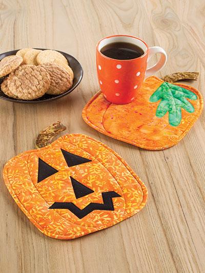Pumpkin Panache Mug Rugs