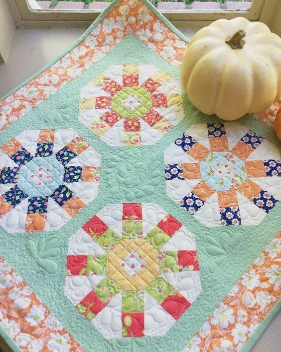 Mini Ferris Wheel Quilt Pattern