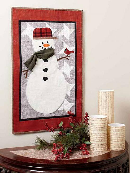 Mr. Snowman Quilt Pattern