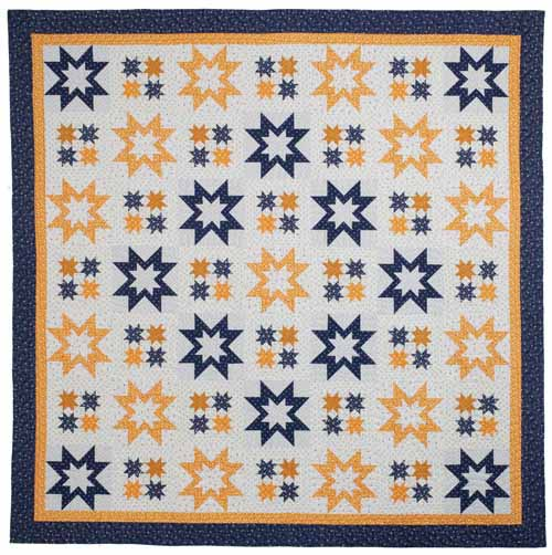 Blue Cheese Night Quilt Pattern