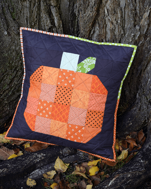 Fall Pumpkin Pillow Tutorial