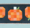 Fall Pumpkin Table Runner Tutorial