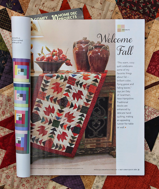 Welcome Fall Table Runner Pattern
