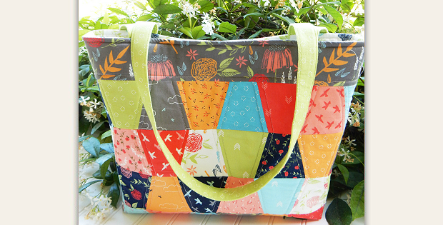 Aubri Tote Bag Pattern