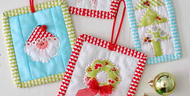 Christmas Candy Ornaments Pattern