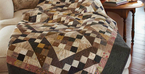 Neutrals Give Timeless Appeal To A Classic Quilt Quilting Digest