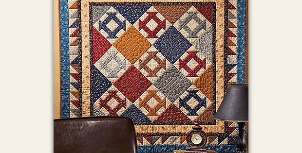 Traditional Colors Create an Elegant Quilt - Quilting Digest : gettysburg quilt shop - Adamdwight.com