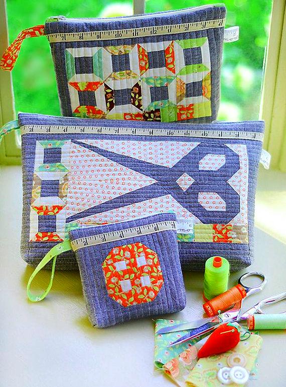 Scissor Satchels Sewing Pattern