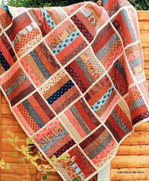 Finish This Easy Quilt Quickly With Quilt As You Go