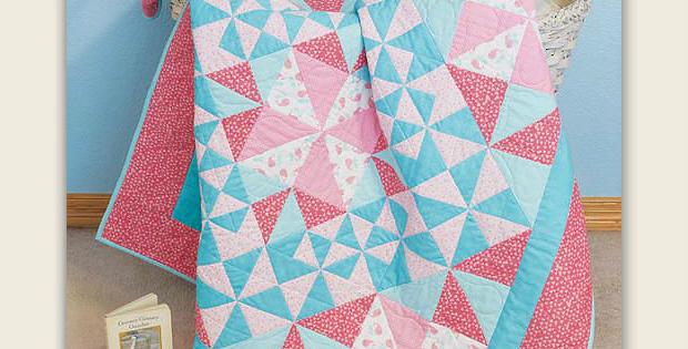 Pinwheel Giggles Quilt Pattern