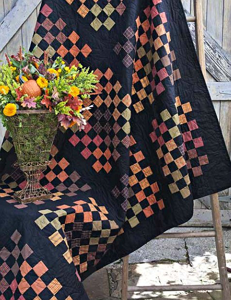 Pumpkin Patches Quilt Pattern