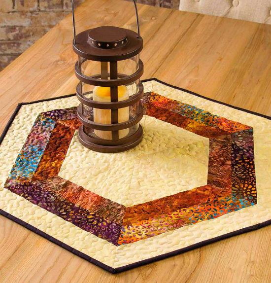 Slice of Pie Table Topper Pattern