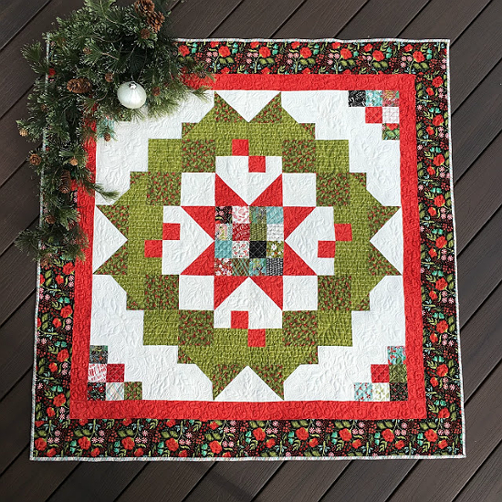 Greet family and friends with this welcoming quilt for Front door quilt pattern