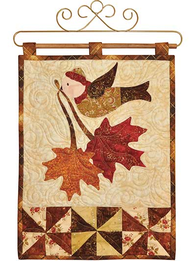 Vintage November Wall Hanging Pattern or Laser-Cut Kit