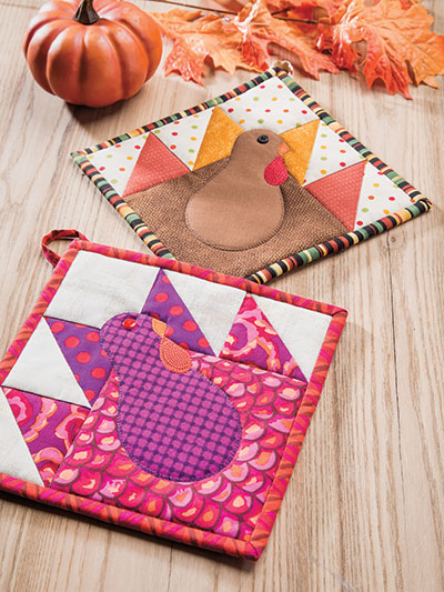 Turkey Day Pot Holder Pattern