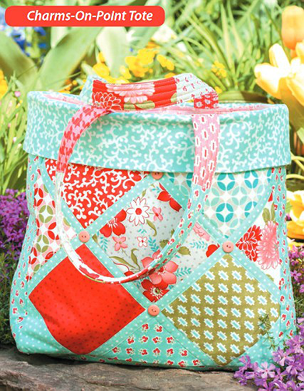 Charms-on-Point Tote Pattern