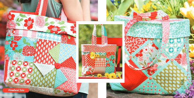 3 Charming Totes Pattern