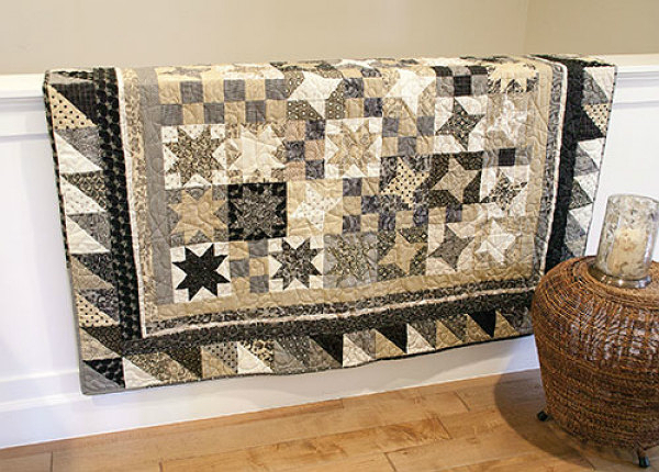 Handsome Stars Quilt Pattern