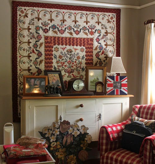 Hang a Large Quilt Without a Sleeve